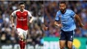 Arsenal's Mesut Ozil and Sydney FC skipper Alex Brosque will be two of the stars on show at ANZ Stadium tonight.