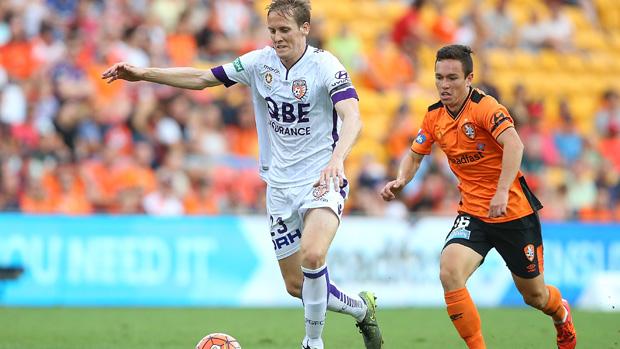 Michael Thwaite Perth Glory defender Michael Thwaite posed to exit club Hyundai A