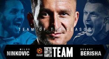 Hyundai A-League Team of the Season