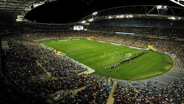A general view of Sydney's ANZ Stadium.