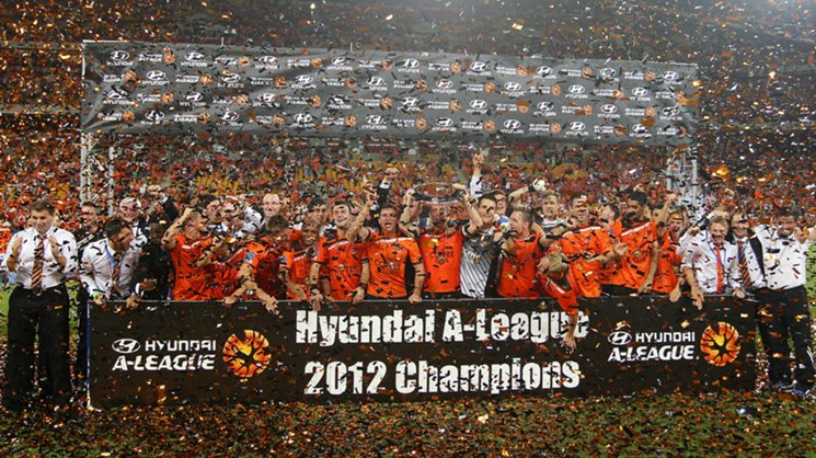 Brisbane Roar made it back-to-back titles in 2012 with a grand final win over Perth Glory.