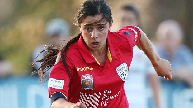 Adelaide United's Alex Chidiac