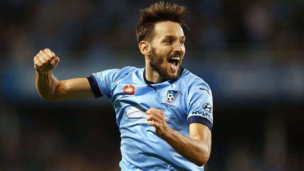 Sydney FC's sublime Serbian Milos Ninkovic has been involved in more away goals than any other player this Hyundai A-League season.