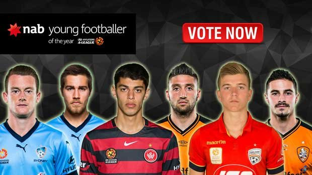 Public voting has begun for the NAB Young Footballer of the Year Award.