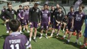 Yoshi on his visit to Perth Glory.