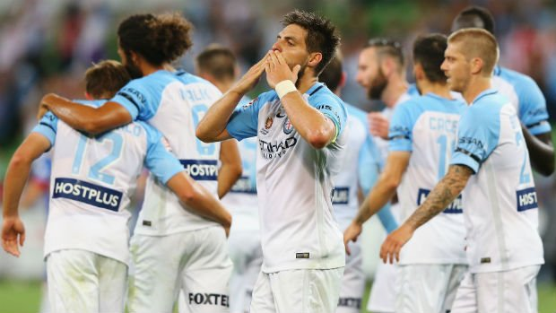 Melbourne City's Bruno Fornaroli is the highest-rated Hyundai A-League player on the new FIFA 18.