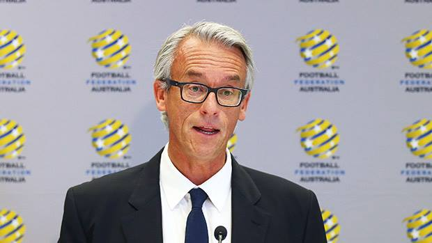 Football Federation CEO David Gallop.