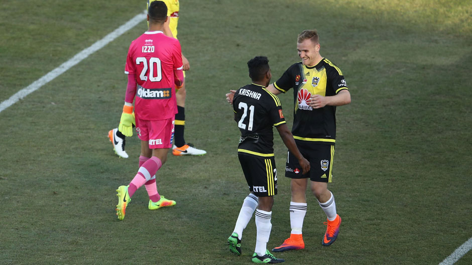 A: It was striker Hamish Watson in the 2-0 win over Central Coast Mariners in Canberra.