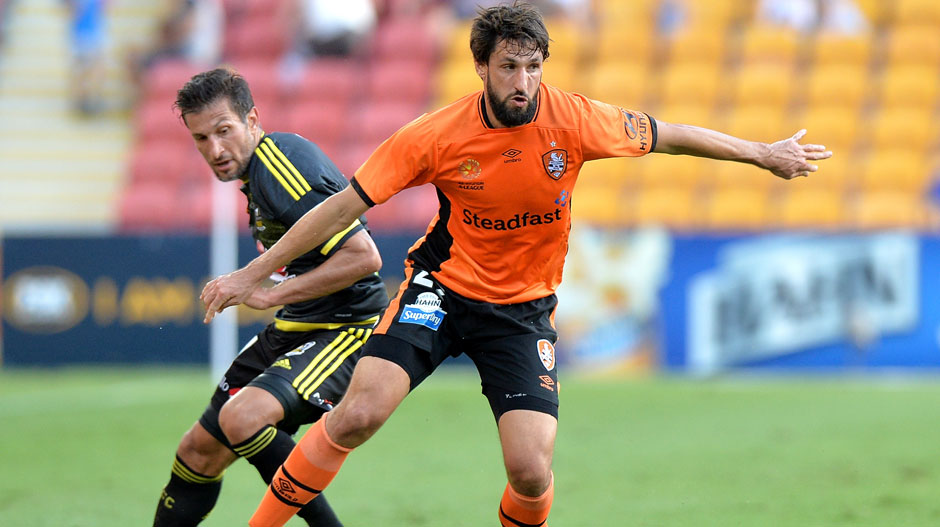 Midfielder: Thomas Broich (Brisbane Roar)
