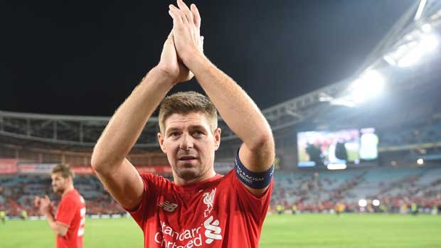 Liverpool legend Steven Gerrard will line-up against Sydney FC when the EPL giants come to Sydney in May.