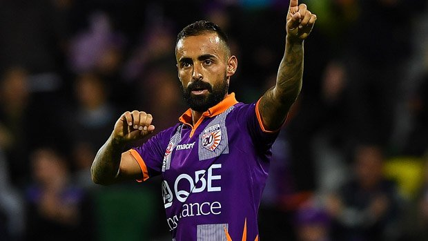 Perth Glory's Diego Castro is the top-rated midfielder in FIFA 18 from the Hyundai A-League.
