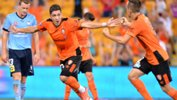 Brisbane Roar's Dimitri Petratos Jason Geria is in the running for the NAB Young Footballer of the Year.
