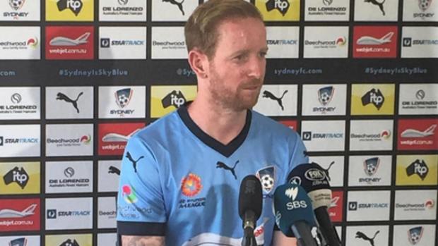 New Sydney FC signing addresses media on Wednesday.