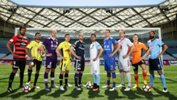 Captains of the 10 Hyundai A-League clubs prior to the start of the 2016/17 Season.