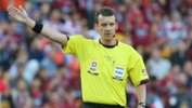 Hyundai A-League referee Peter Green