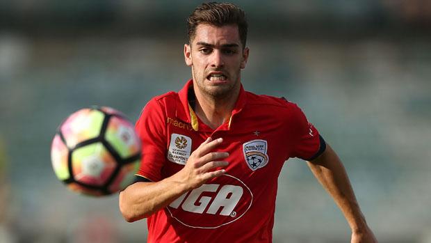 Ben Garuccio has been one of Adelaide United's shining lights this season.
