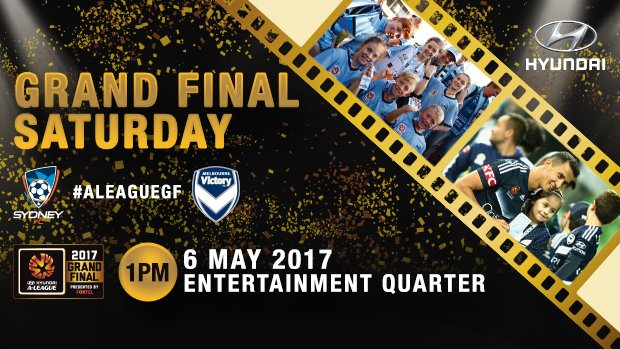 Fans will get their chance to meet both of this year's Hyundai A-League Grand Final teams as part of Grand Final Saturday.