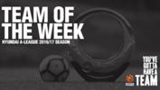 Hyundai A-League Team of the Week.