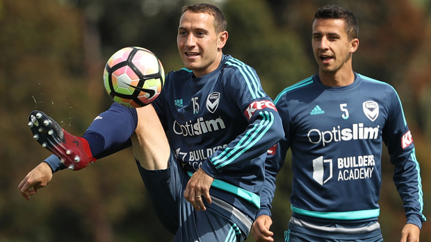Melbourne Victory's Spanish defender Alan Baro has given the Hyundai A-League Finals Series system the thumbs up.