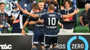 Melbourne Victory recorded their sixth straight win after downing Brisbane 3-2 on Friday night.