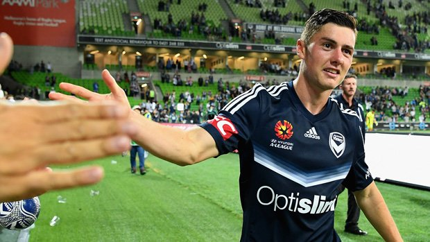 Marco Rojas has departed Melbourne Victory for a European club.