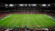 The 2013/14 Hyundai A-League Grand Final between Brisbane Roar and Western Sydney Wanderers at Suncorp Stadium.