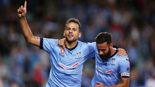 Brazilian marquee Bobo scored a brace in Sydney FC's comfortable 3-0 win over Melbourne City.