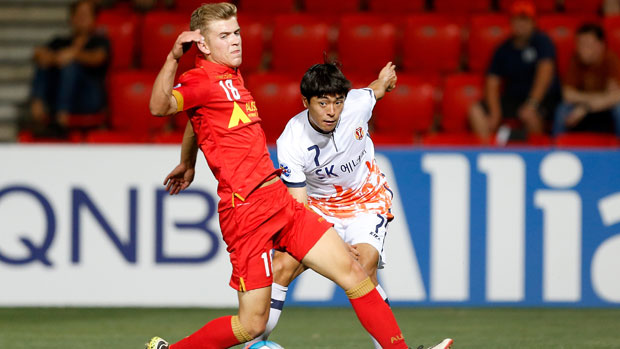 Adelaide United midfielder Riley McGree  insisted his focus was squarely on his side's ACL clash on Wednesday night after the biggest week of his life.