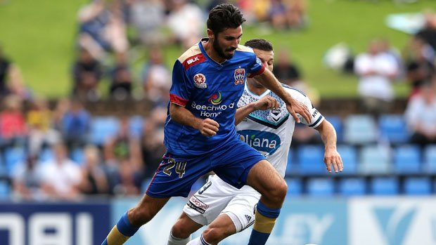 Nicholas Cowburn has signed a two-season Hyundai A-League contract with the Jets.