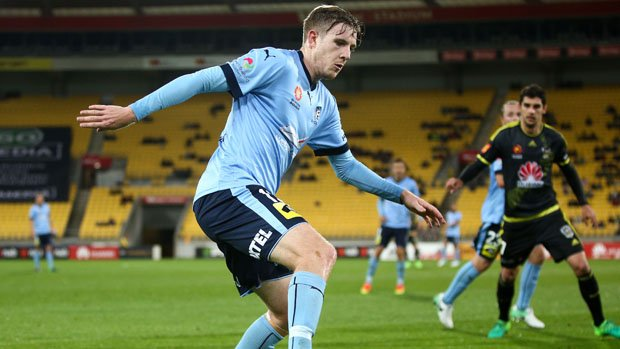 Aaron Calver has re-signed with Sydney FC.