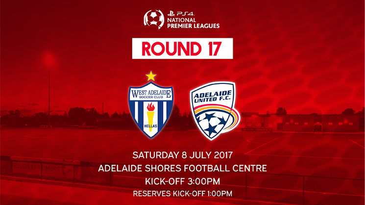 The Young Reds travel to Adelaide Shores Football Centre to take on West Adelaide on Saturday.