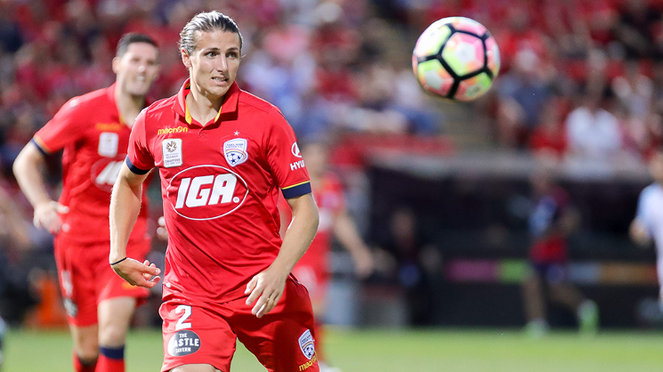 To read the full feature on Michael Marrone, head to the AUFC Store merchandise vans, Red Zone, and outside...