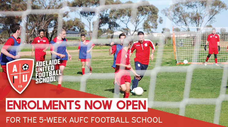 The Adelaide United Football School is coming to Mt Barker in March for a five-week program.