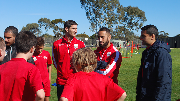 Reds in the Community - Port Pirie, July 2016