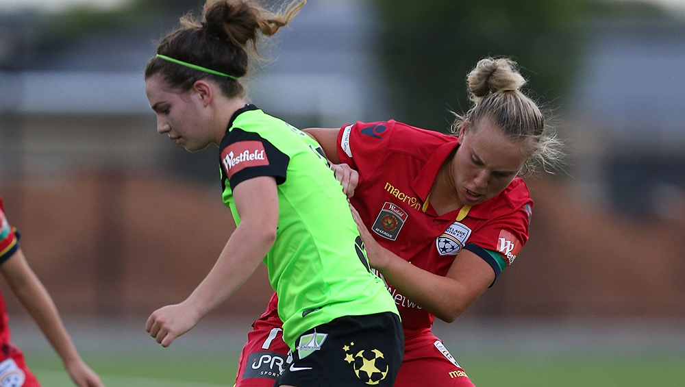 Adelaide United Picture: Report: AUFC Women 2-2 Canberra United