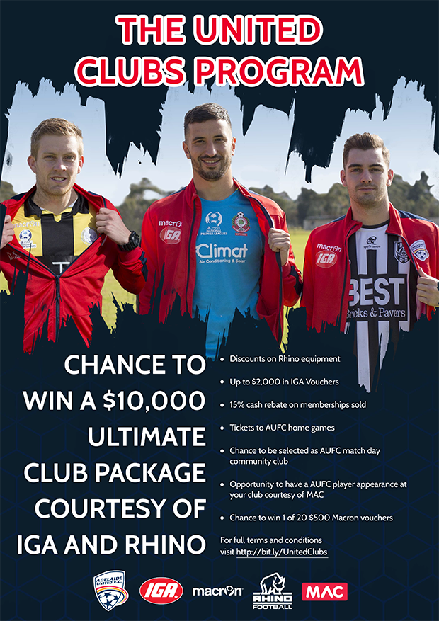 United Clubs Program 2018 Poster FINAL