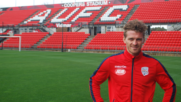 Johan Absalonsen says he's excited to begin his journey with the Reds ahead of the 2017/18 season.