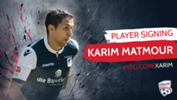 Karim Matmour is the latest international signing by Head Coach Marco Kurz bringing the squad number to 21 players.
