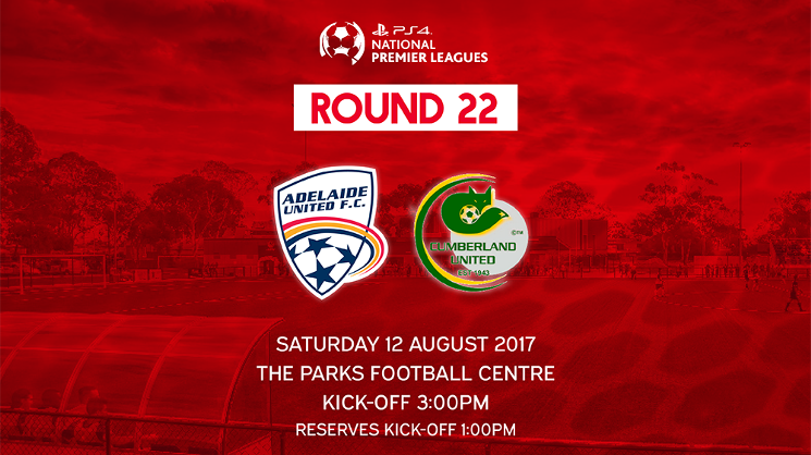 In the final game of of the NPL season, the Young Reds meet Cumberland United at The Parks Football Centre