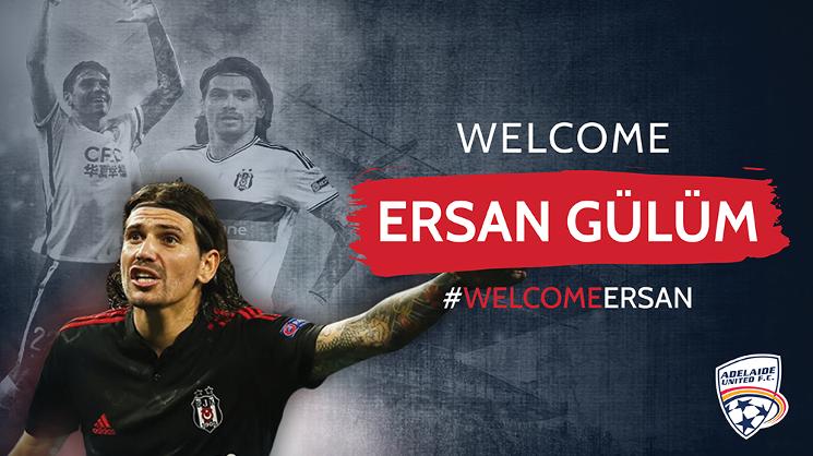 Welcome Ersan Gulum