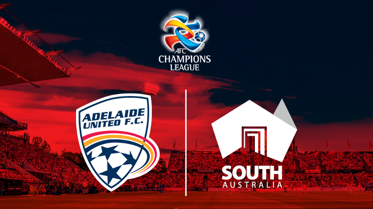 Adelaide United and State Government join forces for AFC Champions League.