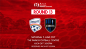 The Young Reds face a tough test at home against second placed Adelaide Comets on Saturday.