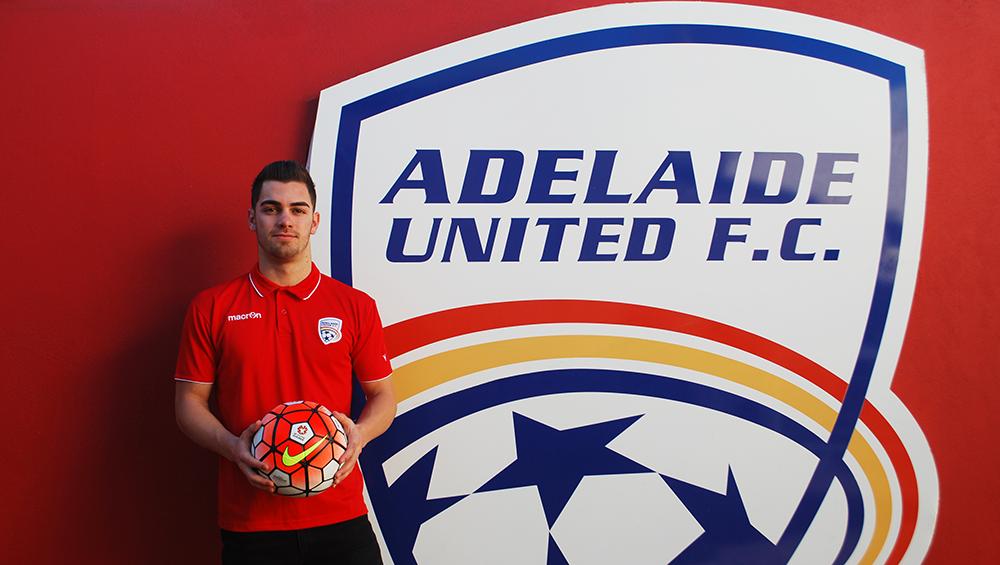 Adelaide United Picture: Reds Announce Garuccio Signing