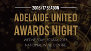 You are invited to the Adelaide United Awards Night on Wednesday, 10 May 2017.