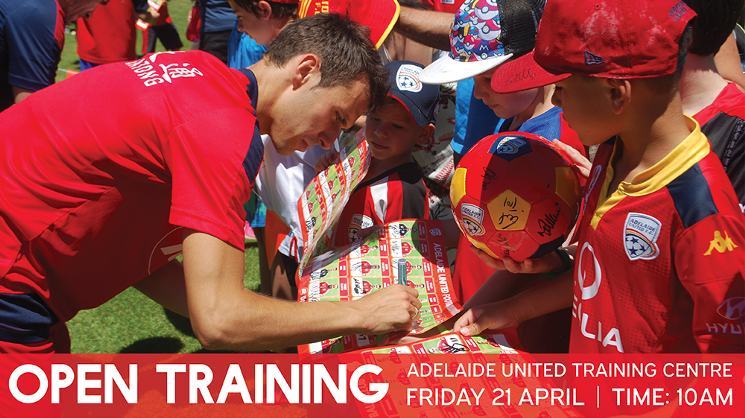 Open Training Session April 21