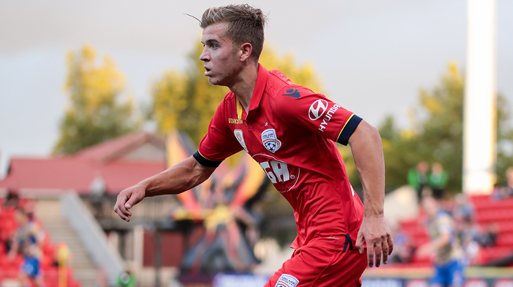 To read the full feature on Riley McGree, head to the AUFC Store merchandise vans, Red Zone, and outside IGA Family Park...