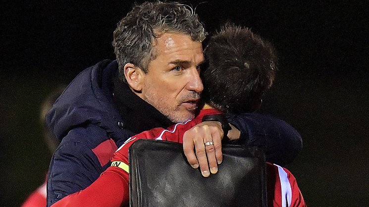 Marco Kurz is embracing the Reds' next competitive clash this season, after drawing Melbourne Victory in the Round of 16 of the Westfield FFA Cup // Photo by 80kms