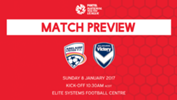 Adelaide United will take on Melbourne Victory in Round 8 of the 2016/17 NYL.