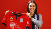 Emma Checker has returned to home town team Adelaide United for the 2017/18 Westfield W-League season.