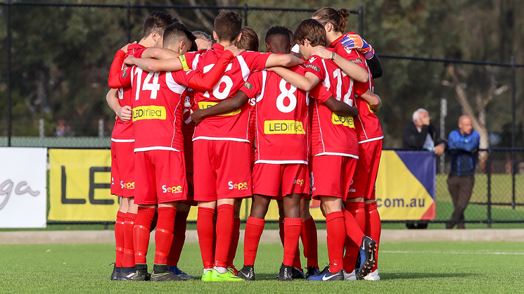 The Young Reds take on Cumberland United at A.A Bailey Reserve on Saturday. Kick-off 3pm, Reserves 1pm.